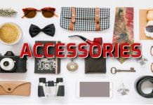 accessories vocabulary in English online