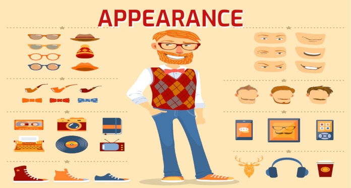 appearance vocabulary in English
