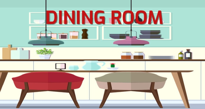 dining room vocabulary in English