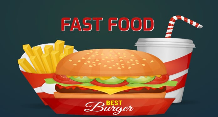 fast food vocabulary in English