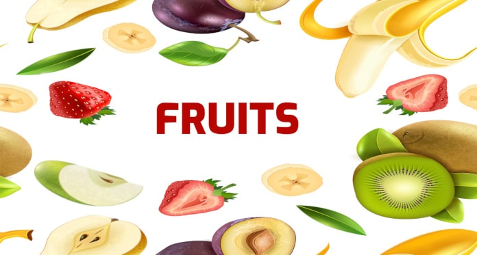 Fruits Vocabulary in English – With Games Pictures Audio and Quizzes