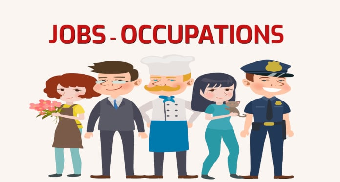 Jobs and Occupations Vocabulary in English – With Games and Pictures