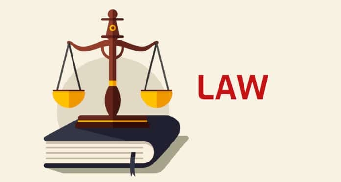 law vocabulary in English