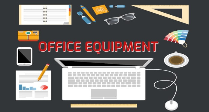 Office Equipment Vocabulary in English – With Games Pictures Quizzes