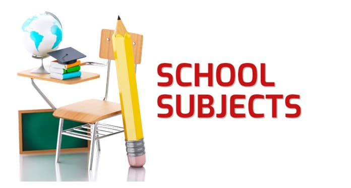 school subjects vocabulary in English