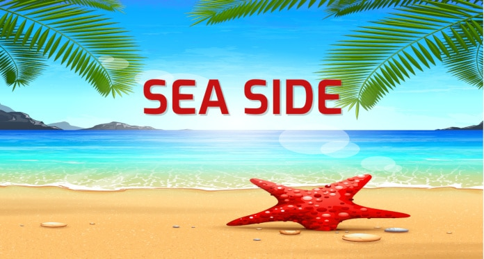 Seaside Vocabulary in English – With Games Pictures Sounds and Quizzes