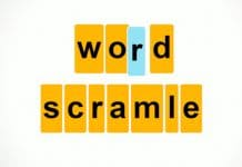 word scramble game to play online